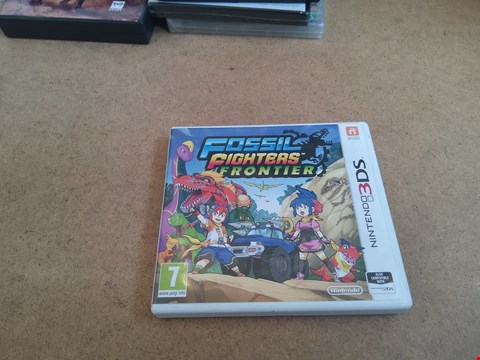 Lot 2557 NINTENDO 3DS FOSSIL FIGHTERS FRONTIER GAME