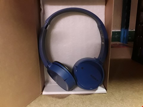 Lot 222 SONY WIRELESS STEREO HEADSET WH-CH500