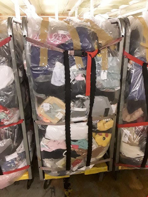 Lot 245 CAGE OF UNPROCESSED ADULT DESIGNER CLOTHING (CAGE NOT INCLUDED)