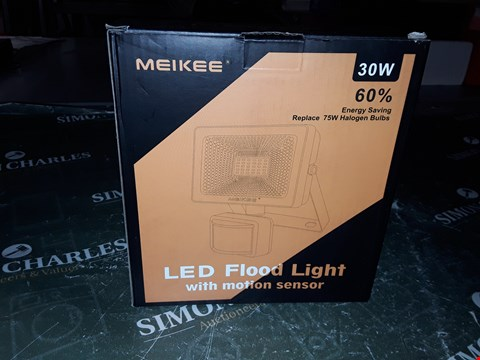 Lot 1237 MEIKEE LED FLOOD LIGHT WITH MOTION SENSOR