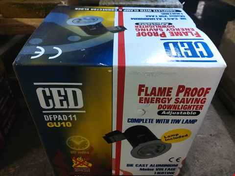 Lot 681 BOXED CED FLAME PROOF ENERGY SAVING DOWNLIGHTER