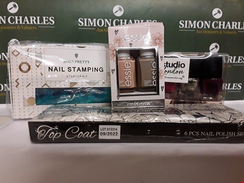 Lot 94 LOT OF 4 ASSORTED NAIL SETS INCLUDING BORN PRETTY STAMPING KIT