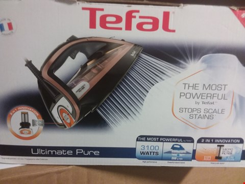 Lot 404 TEFAL ULTIMATE PURE IRON