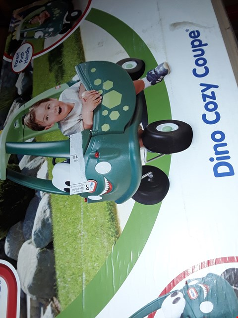 Lot 7765 LITTLE TIKES DINO COSY COUPE RRP £79.00