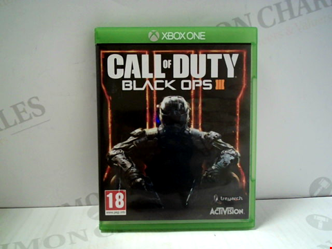 Lot 5800 CALL OF DUTY BLACK OPS III XBOX ONE GAME