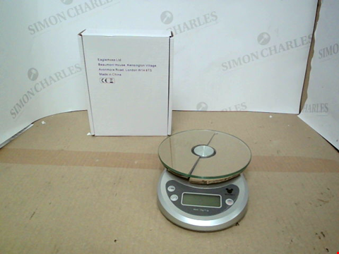 Lot 10546 BOXED DESIGNER WEIGHING SCALES