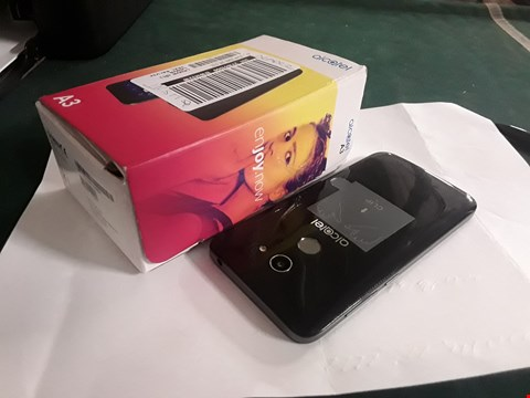 Lot 2158 ALCATEL A3 MOBILE PHONE - BLACK RRP £170