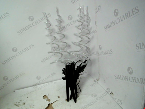 Lot 13013 CURLY PATHFINDERS OUTDOOR CHRISTMAS DECORATIONS RRP £32.00