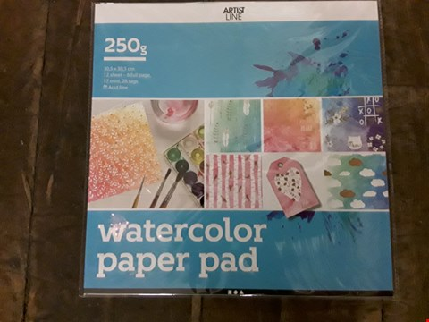 Lot 745 LOT OF 24 CRAFT WATERCOLOUR PAPER PADS