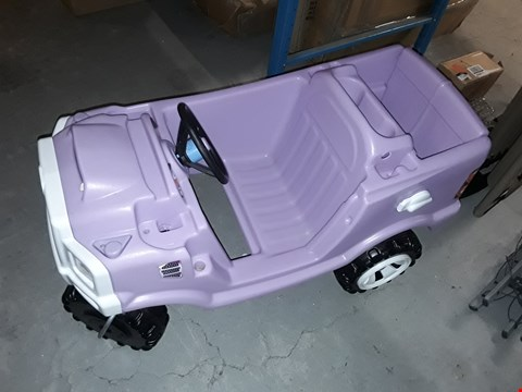 Lot 7708 BOXED LITTLE TIKES PRINCESS COZY TRUCK RRP £115.00