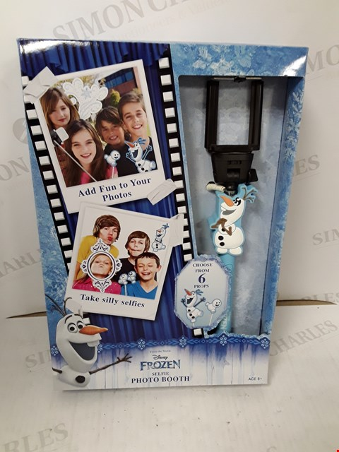 Lot 771 BOXED DISNEY FROZEN SELFIE PHOTO BOOTH