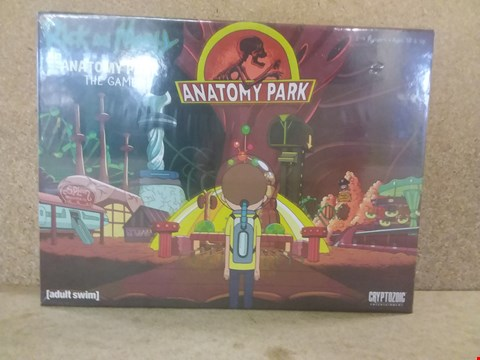 Lot 435 BRAND NEW BOXED RICK AND MORTY ANATOMY PARK THE GAME