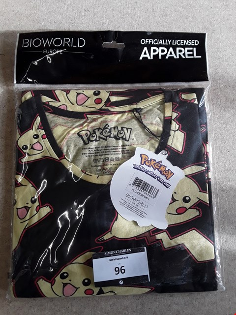 Lot 96 BRAND NEW POKEMON OFFICIALLY LICENSED T-SHIRT