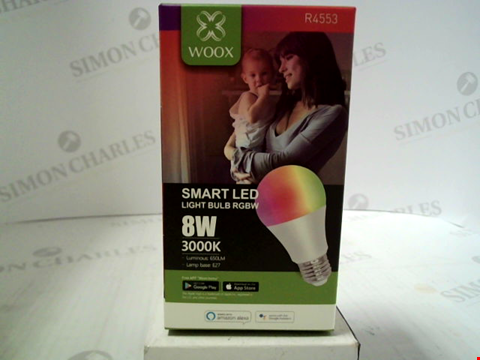 Lot 394 BRAND NEW WOOX SMART LED LIGHT BULB (E27)