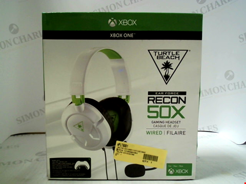Lot 3132 TURTLE BEACH EAR FORCE RECON 50X WIRED GAMING HEADSET FOR XBOX ONE