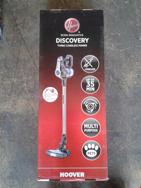 Lot 200 HOOVER DISCOVERY PETS CORDLESS VACUUM