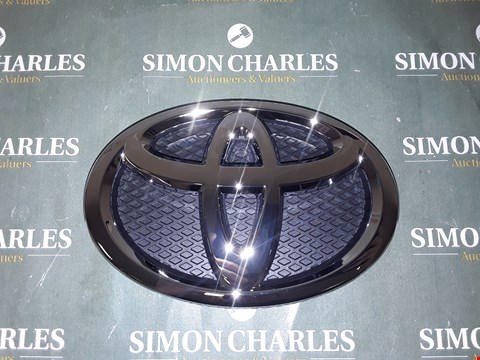 Lot 4067 TOYOTA FRONT GRILLE BADGE 150MM