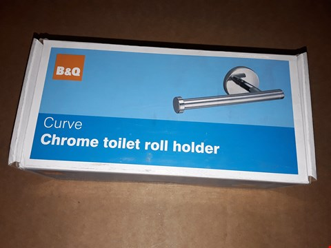Lot 7045 4 CURVE CHROME TOILET ROLL HOLDERS