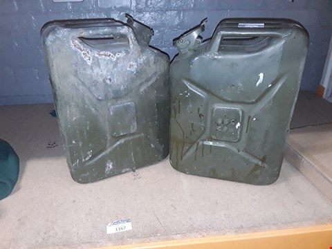 Lot 464 LOT OF 3 JERRY CANS