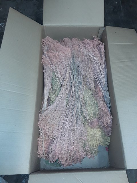 Lot 3147 PALLET OF APPROXIMATELY 15 BOXES OF DRIED FLOWERS