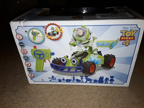 Lot 4386 TOY STORY BUZZ LIGHTYEAR RC TURBO BUGGY RRP £34.99