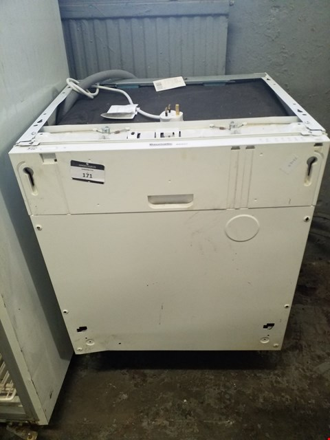 Lot 171 BAUMATIC BDI631 FULLY INTEGRATED DISHWASHER