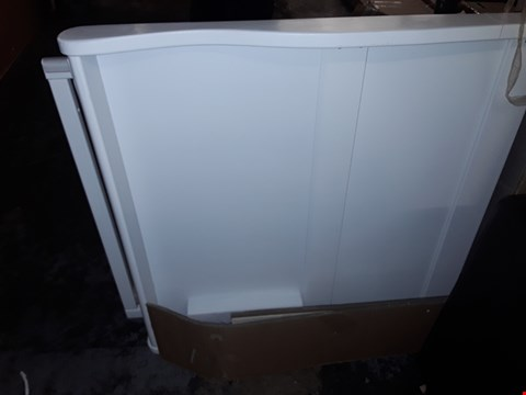 Lot 458 BOXED WHITE WOODEN TRUNDLE BED