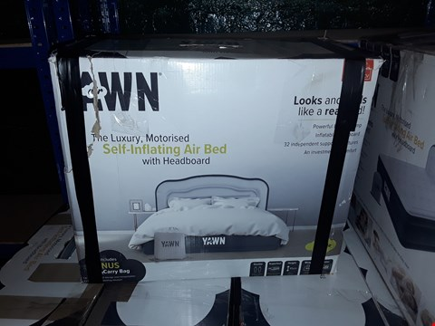 Lot 1079 BOXED YAWN AIR SELF INFLATING BED DOUBLE