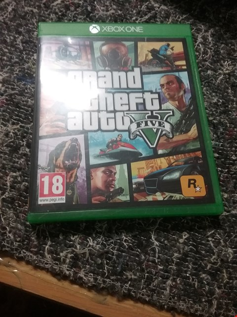 Lot 7055 GRAND THEFT AUTO 5 XBOX ONE GAME RRP £75