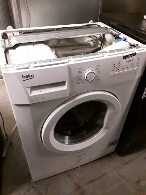 Lot 10008 BEKO WMS6100W WHITE WASHING MACHINE  RRP £235.00