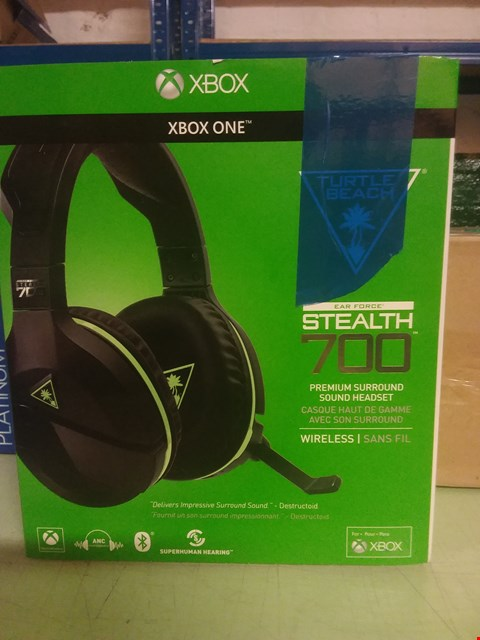Lot 101 TURTLE BEACH STEALTH 700X GAMING HEADSET FOR XBOX ONE