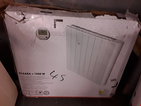 Lot 64 ALVARA + 1500W NATURAL STONE DRY INERTIA RADIATOR