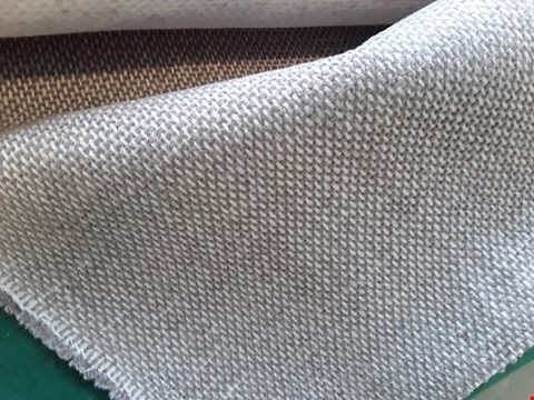 Lot 2046 ROLL OF SILVER GREY WEAVE FIRE RETARDANT MATERIAL APPROXIMATELY 140cm × 5.7M
