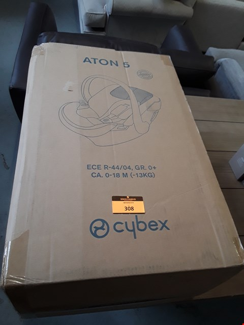 Lot 308 BOXED CYBEX ATON 5 CAR SEAT