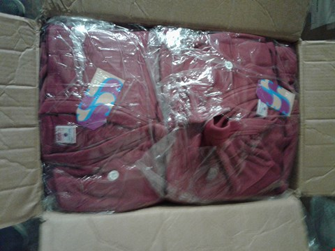 Lot 1465 A BOX OF APPROXIMATELY 50 GIRL'S CARDIGANS - MAROON