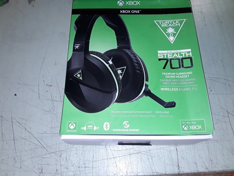 Lot 10904 XBOX ONE TURTLE BEACH STEALTH 700 GAMING HEADSET