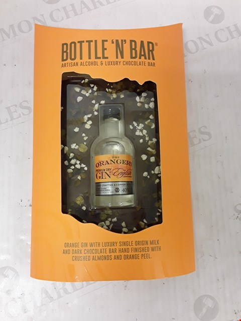 Lot 9029 BOTTLE 'N' BAR WITH ORANGE GIN RRP £14.99