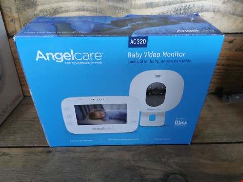 Lot 36 BOXED ANGEL CARE AC320 BABY VIDEO MONITOR