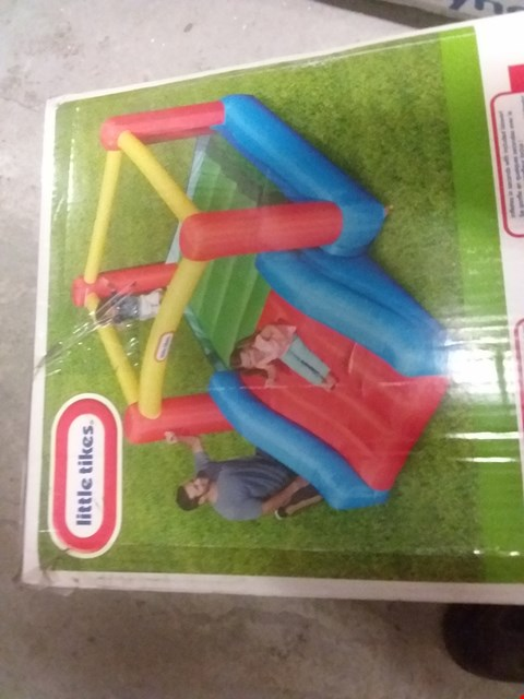 Lot 103 BOXED LITTLE TIKES JUNIOR JUMP AND SLIDE BOUNCY CASTLE RRP £289.99