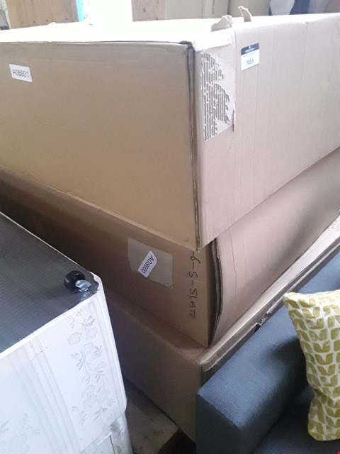 Lot 7059 THREE BOXED DIVAN BASE SECTIONS