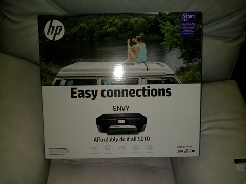 Lot 3365 HP ENVY 5010 EASY CONNECTIONS WIRELESS ENABLED COLOUR PRINTER
