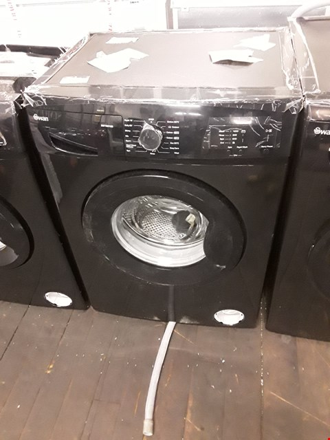 Lot 9005 SWAN SW15810B 6KG 1200 SPIN WASHING MACHINE IN BLACK