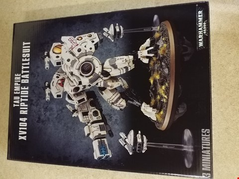 Lot 2014 BOXED XV104 RIPTIDE BATTLESUIT 3 MINIATURES
