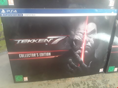 Lot 10A BRAND NEW BOXED TEKKEN 7 COLLECTORS EDITION SET FOR PS4