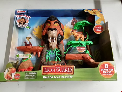 Lot 57 THE LION GUARD RISE OF SCAR PLAYSET