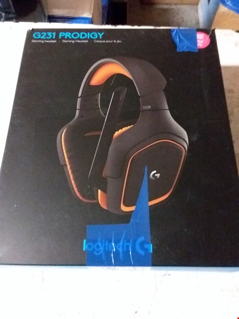 Lot 652 LOGITECH G231 PRODIGY GAMING HEADSET