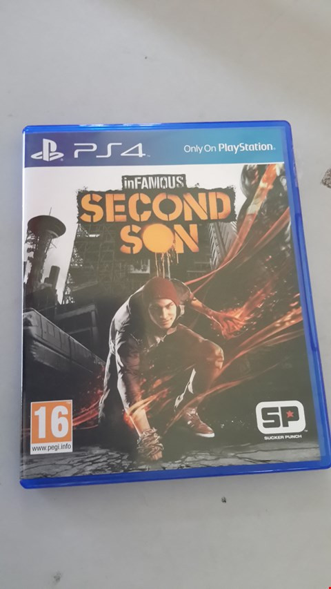 Lot 9053 INFAMOUS SECOND SON FOR PS4