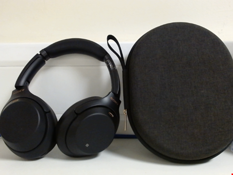 Lot 15064 SONY WH-1000XM3 WIRELESS NOISE CANCELLING HEADPHONES