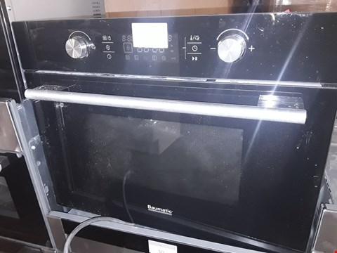 Lot 9 BAUMATIC INTEGRATED SINGLE ELECTRIC OVEN