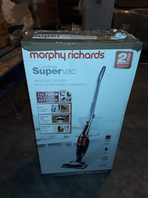 Lot 1060 MORPHY RICHARDS CORDLESS SUPERVAC